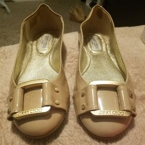 Jimmy Choo Morse Flats Nude Size 37 (7)